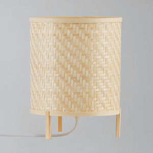 Nordlux Trinidad Woven Bamboo Table Lamp - -Lampsy