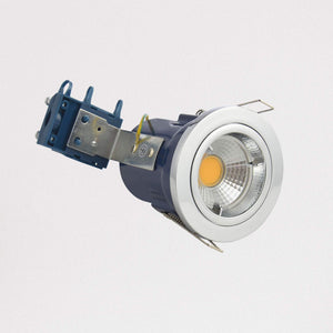 Lampsy Metro Recessed Downlight - Fire Rated - Polished Chrome-Lampsy
