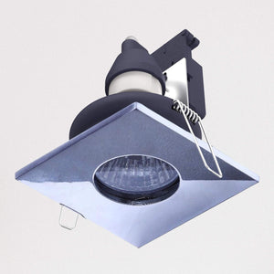 Lampsy Square Bathroom Downlight - Chrome-Lampsy