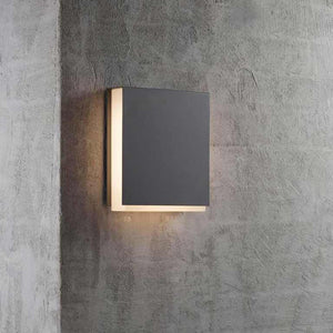 Nordlux Tamar Clips LED Outdoor Wall Light - Grey - Outdoor Lighting - Lampsy