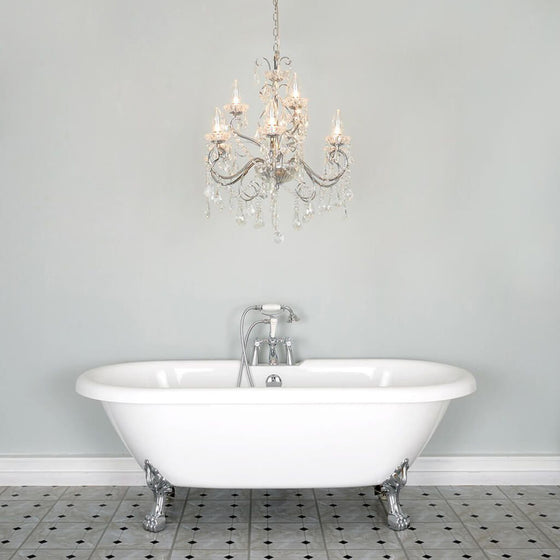 Harrington 9 Bathroom Chandelier