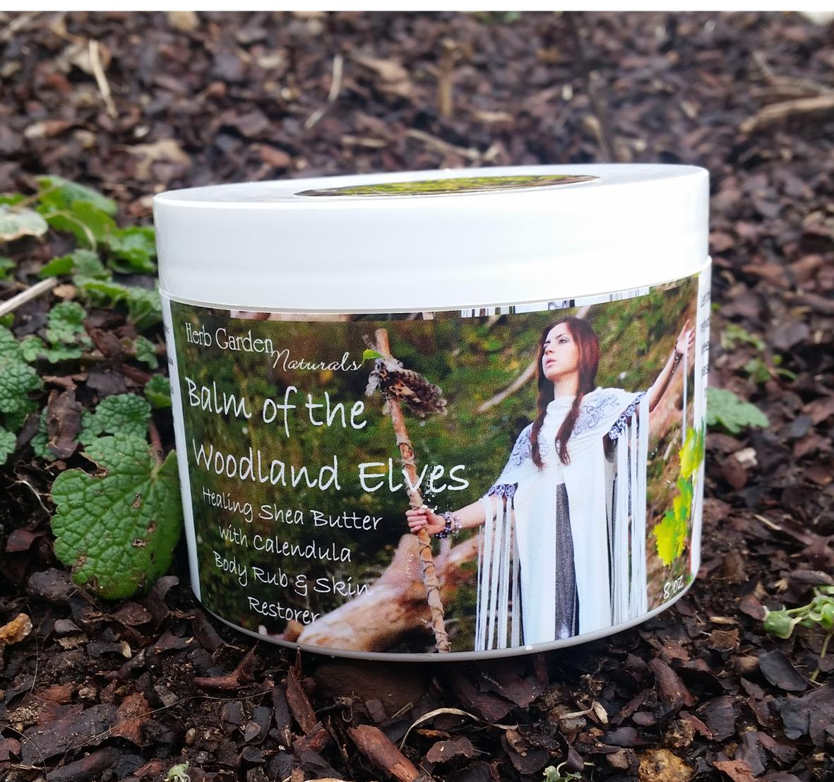 Balm of the Woodland Elves Organic, Natural Skin Hydration