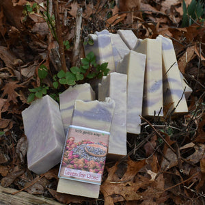 Lavender Rose Handmade Natural Soap
