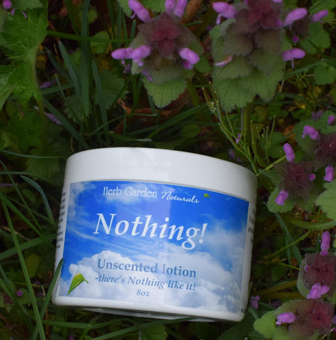Nothing! Unscented Organic Cream
