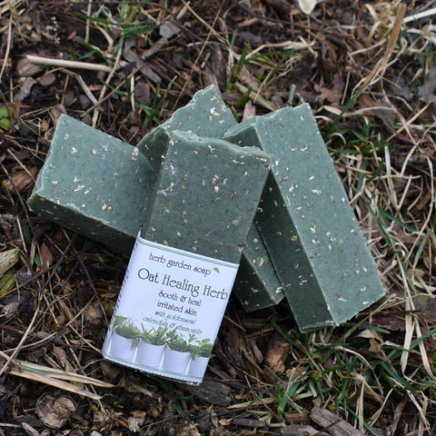 Oat Healing Herb Natural Handmade Soap