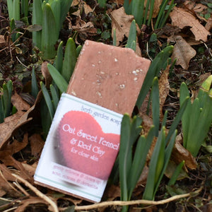 Oat Sweet Fennel & Red Clay Natural Handmade Soap