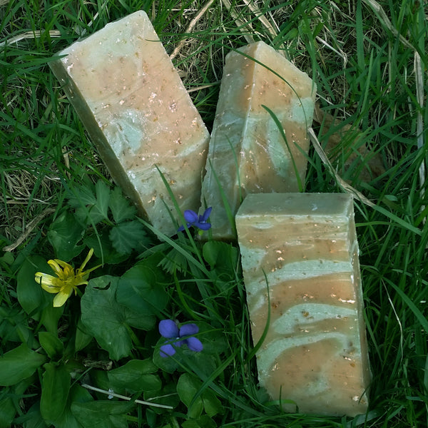 Oat Rosemary & Lemongrass Natural Handmade Soap