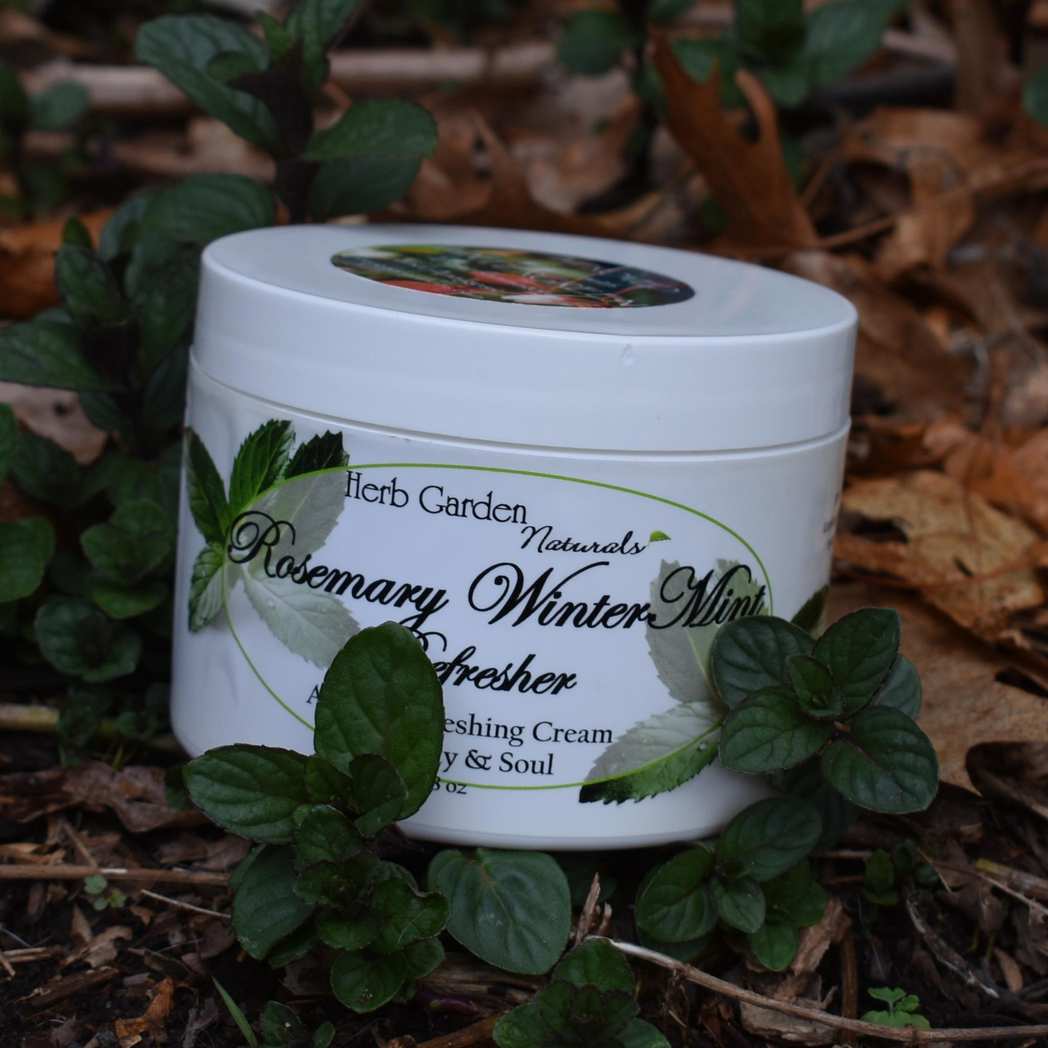 Rosemary WinterMint Refresher Organic Body Cream