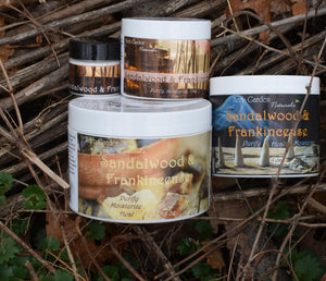 Sandalwood & Frankincense Organic Body Cream