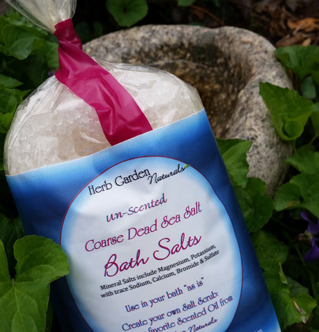 Dead Sea Salt Coarse Bath Salts