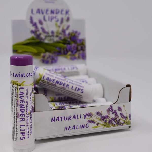 Lavender Lips Organic Lip Butter
