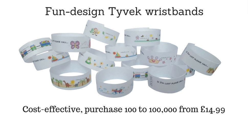 silicone kids wristbands
