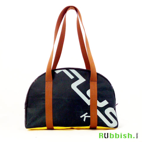 bowling bag made of recycled kite from flysurfer kiteboarding