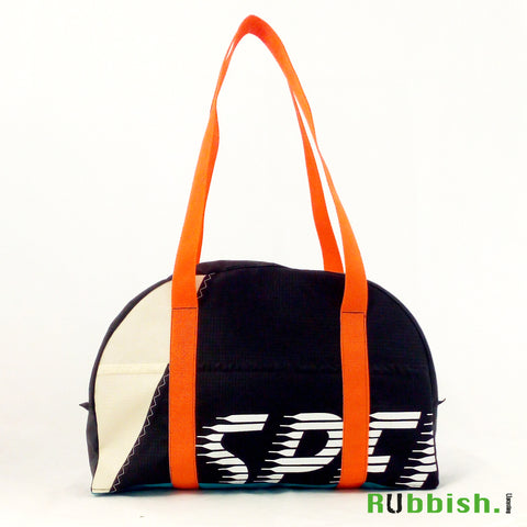 speed de luxe flysurfer, bowling bag made of recycled kite