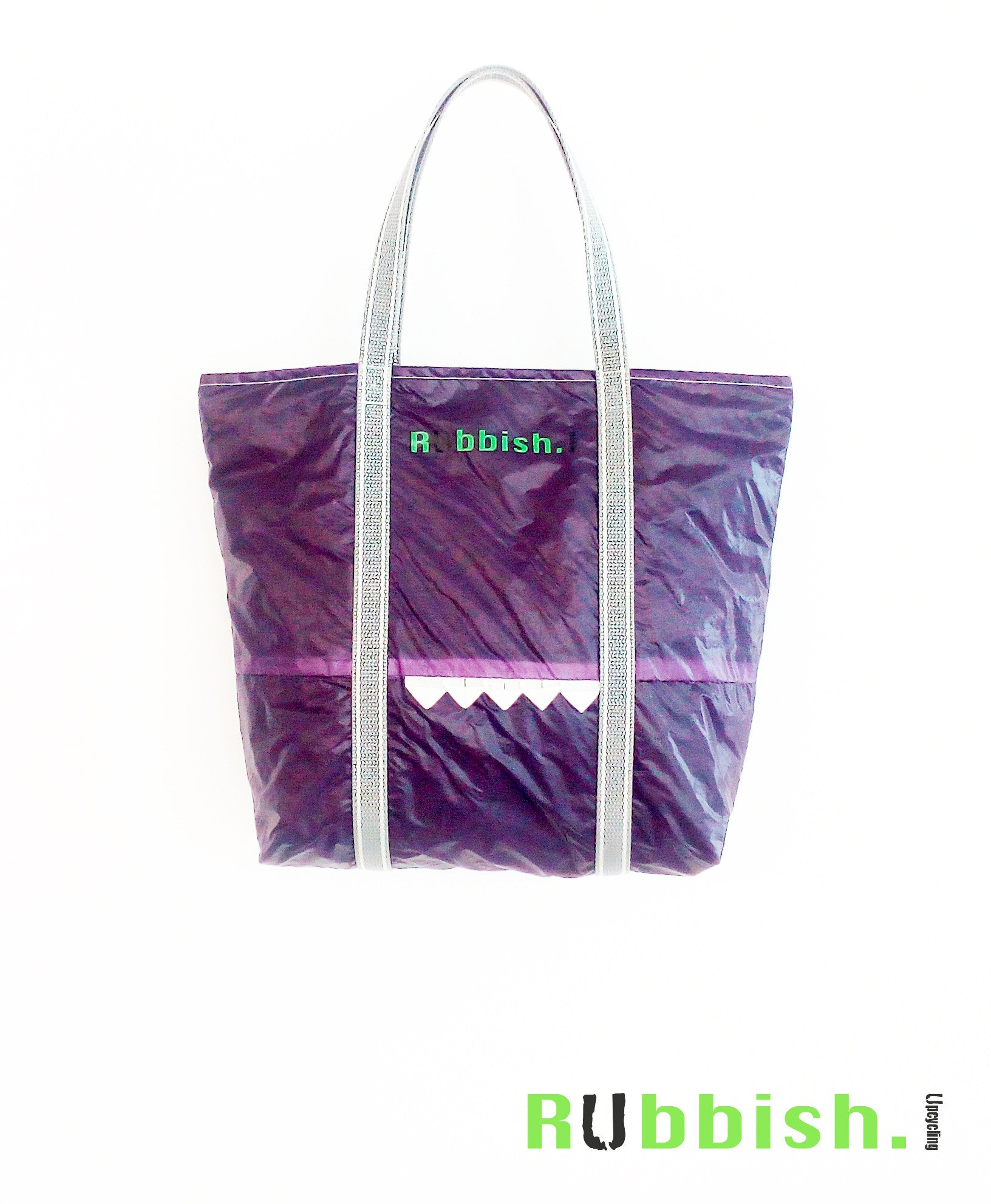 beach bag made of kite or paraglider
