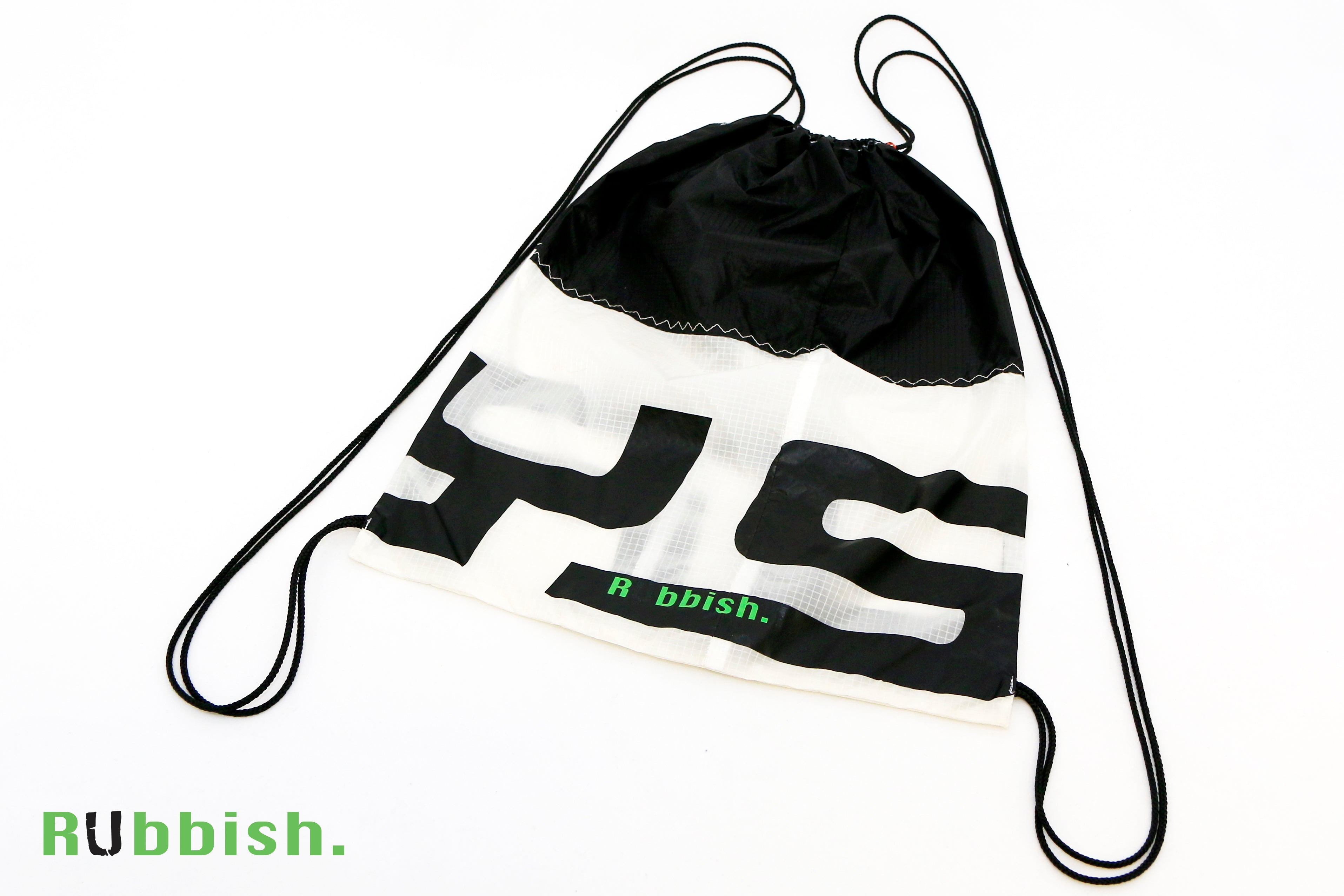 bag made of recycled flysurfer kite