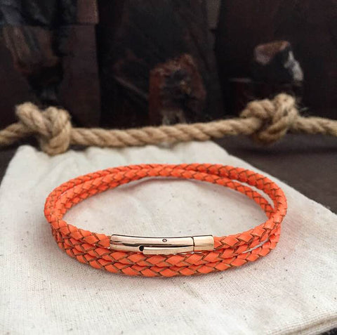 ARTY ORANGE - BRACELETSCLUB
