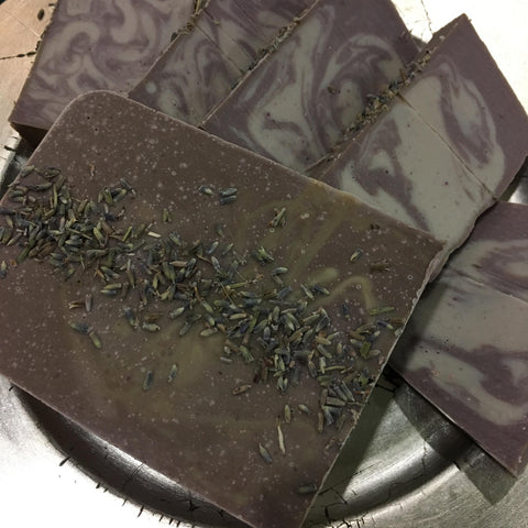 Cake Soap - Lavender & Almonds