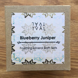 Foaming Mineral Bath Salt - Blueberry Juniper