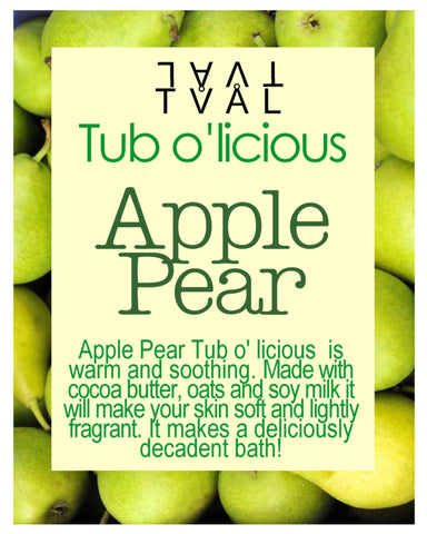 Tub o'licious - Apple Pear