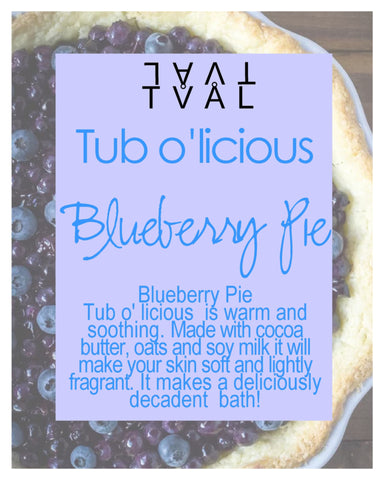 Tub o'licious - Blueberry Pie