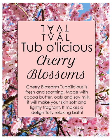 Tub o'licious - Cherry Blossoms