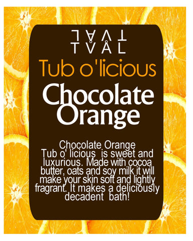 Tub o'licious - Chocolate Orange