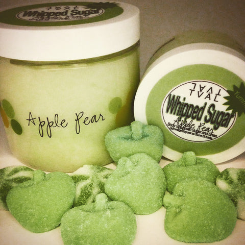 Whipped Sugar - Apple Pear