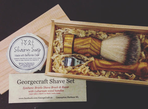 GeorgeCraft Handcrafted Shaving Set