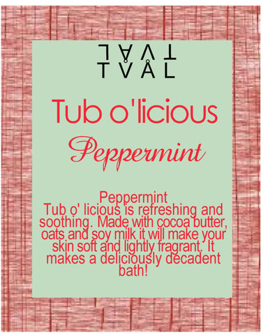 Tub o'licious - Peppermint
