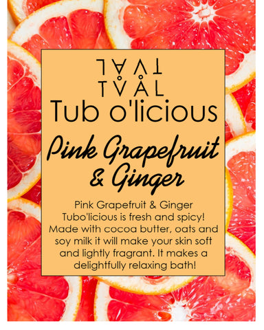 Tub o'licious - Pink Grapefruit & Ginger