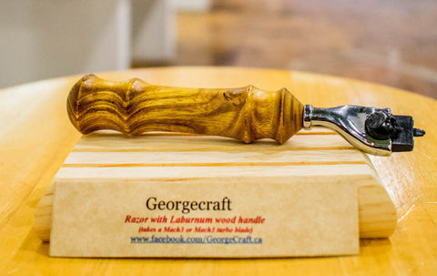 GeorgeCraft Handcrafted Razor Handle