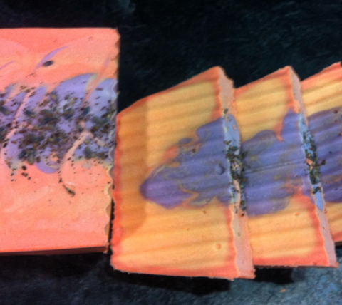 Cake Soap - Clementine Lavender