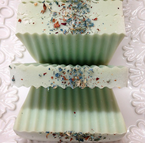 Cake Soap - Bergamot and Tobacco