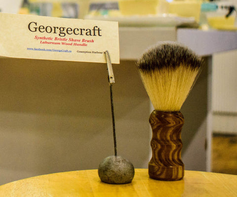 GeorgeCraft Handcrafted Shave Brush