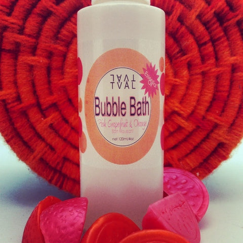 Pink Grapefruit & Orange - Bubble Bath (100% pure essential oils)