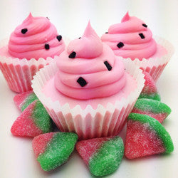 Cupcake Soap - Watermelon
