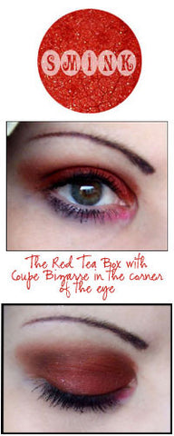 Smink Loose Mineral Shimmering Eyeshadow - The Red Tea Box