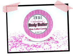Pink Cotton Candy - Shimmering Body Butter