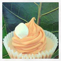 Cupcake Soap - Pumpkin Marshmallows