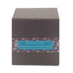 Foaming Mineral Bath Salt - Rosemary Mint