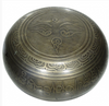 Tibetan Bronze Engraved Buddha Singing Bowl - 4.5 inch - The Prana House, Inc.  - 3