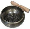 Tibetan Bronze Engraved Buddha Singing Bowl - 4.5 inch - The Prana House, Inc.  - 1