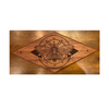 Magic Moth Etched Mahogany - Woodland Woodworx