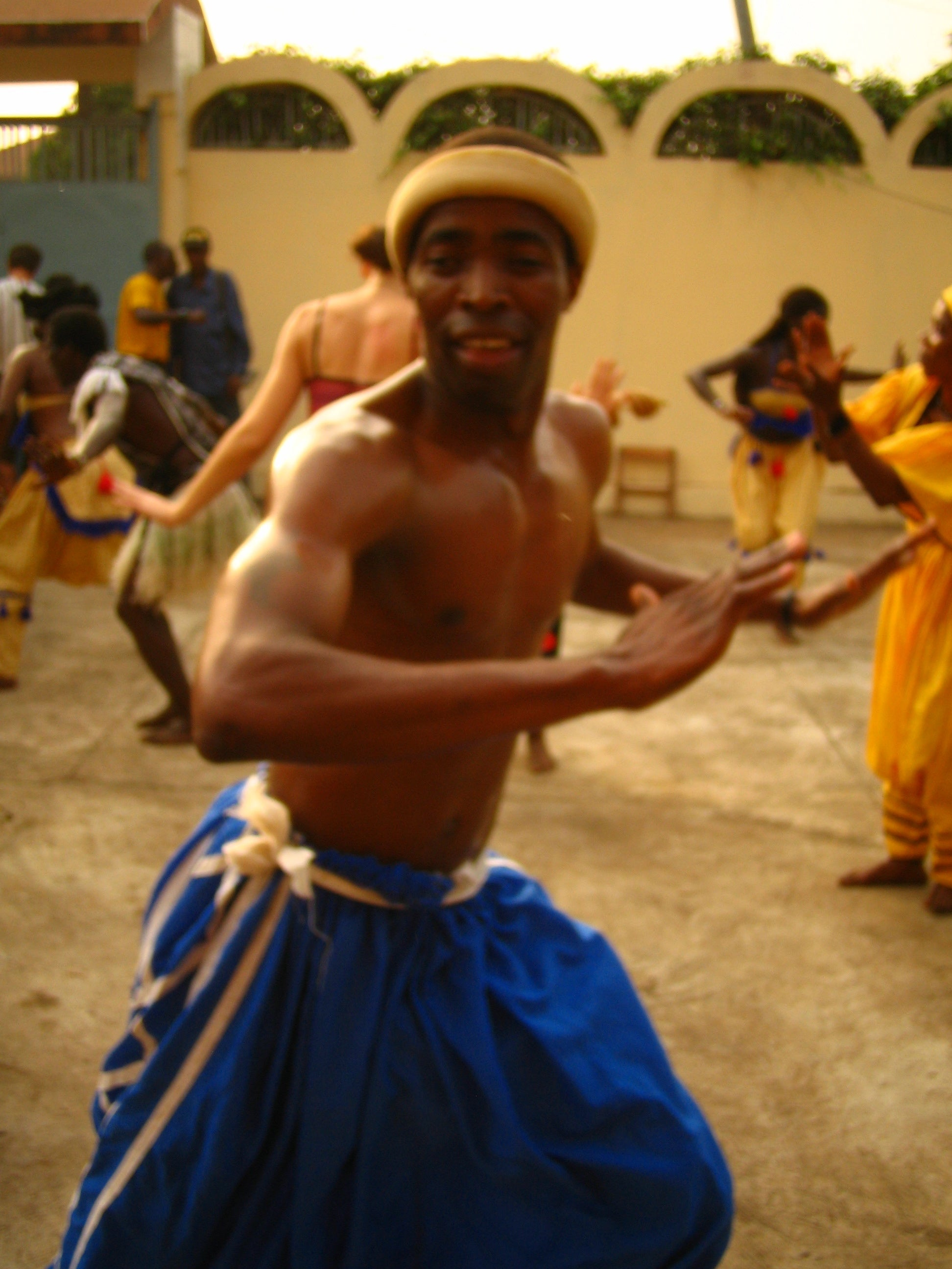 dancer in guinea