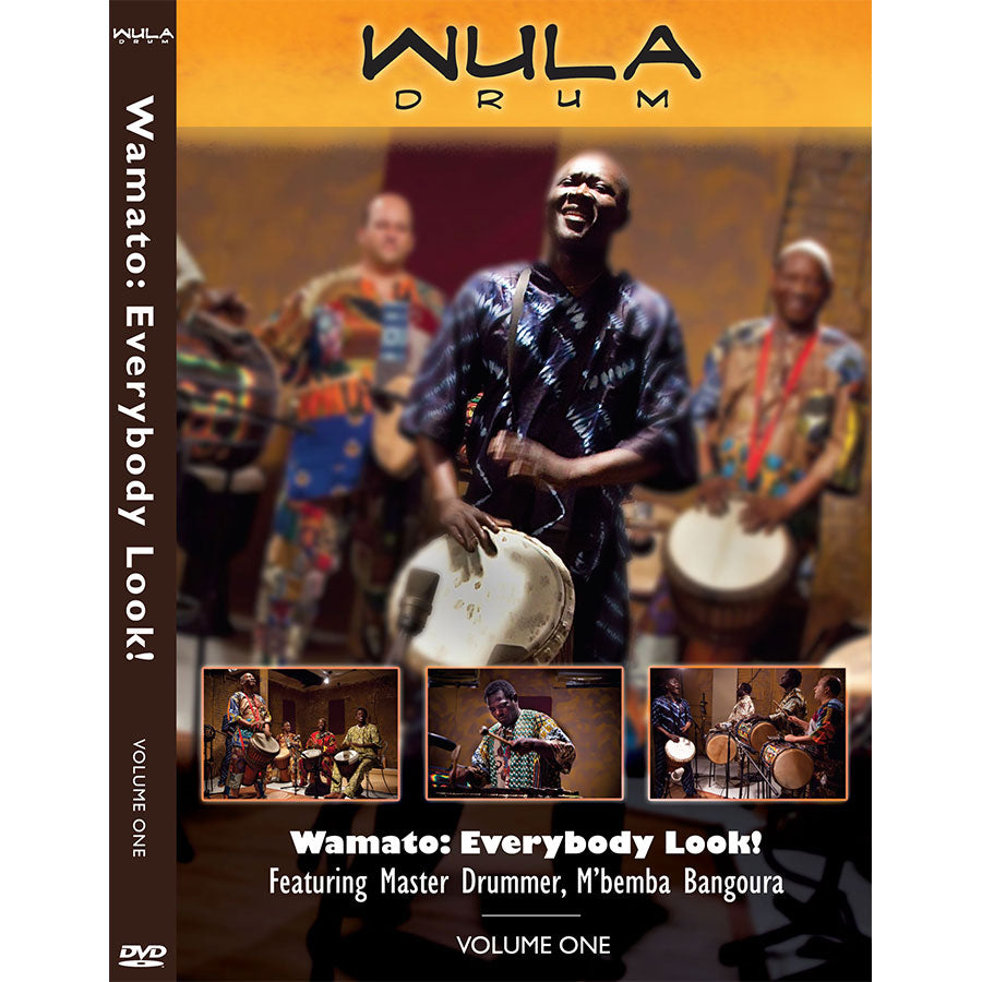 Wamato Instructional DVD (Wula Online) Vol. 1 from M'Bemba Bangoura
