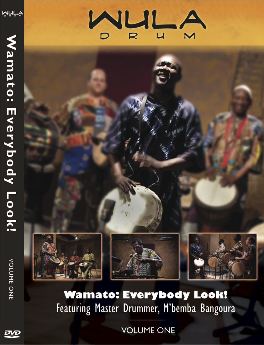Wula Wamato Instructional DVD Vol. 1 from M'Bemba Bangoura