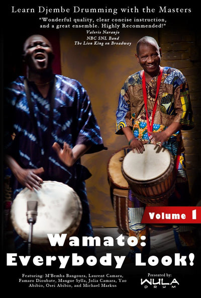 Wula Download: Wamato Instructional DVD Vol. 1 from M'Bemba Bangoura