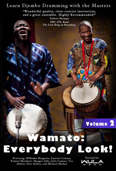 Wula Download: Wamato Instructional DVD Vol. 2 from M'Bemba Bangoura