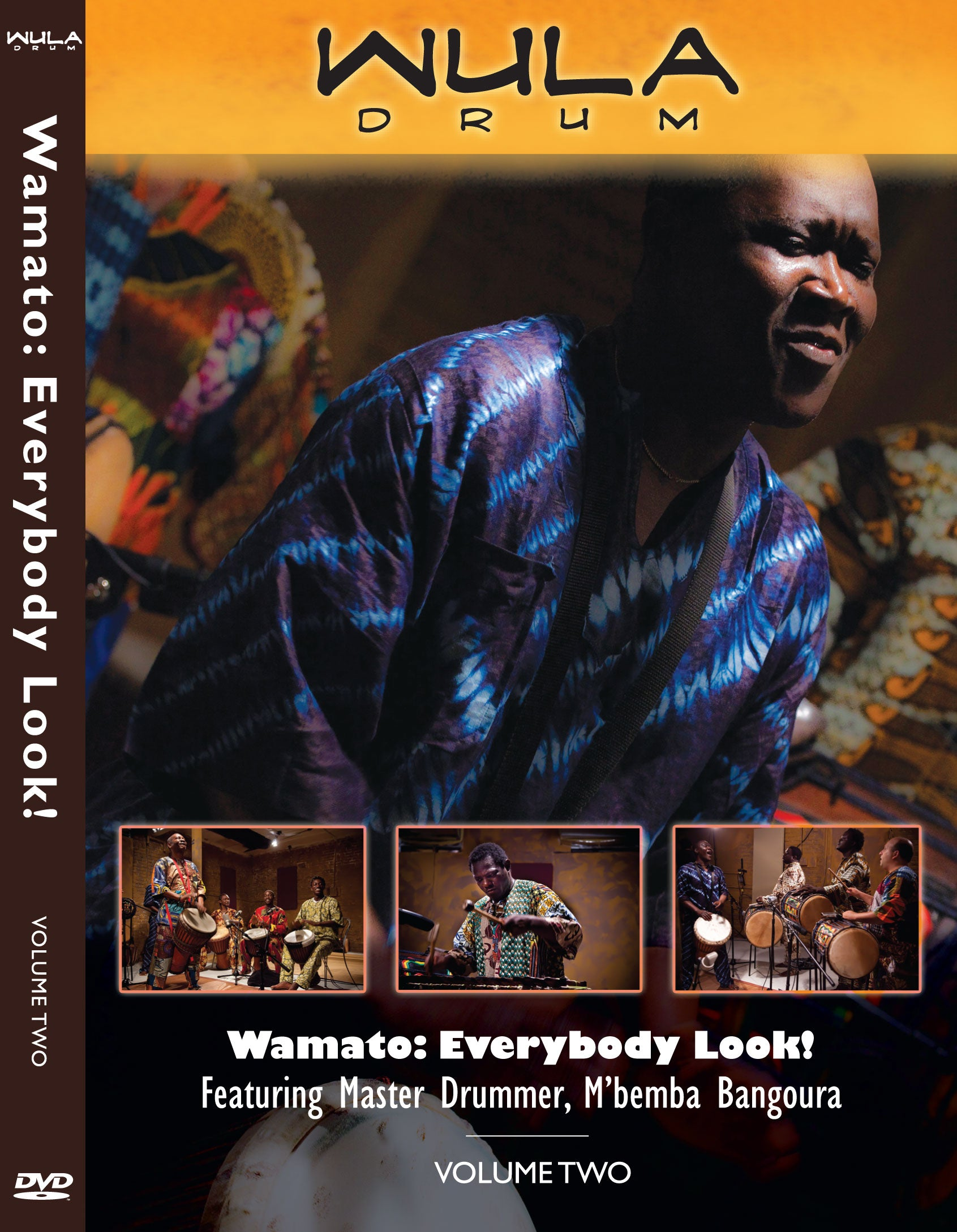 Wula Wamato Instructional DVD (PHYSICAL COPY) Vol. 2 from M'Bemba Bangoura